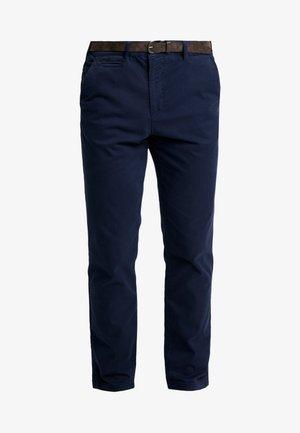 JJIROY JJJAMES - Chinosy - navy blazer