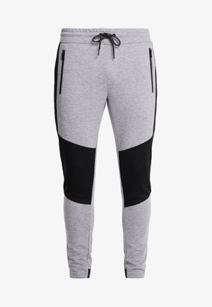 JJIWILL PANTS - Pantaloni sportivi - light grey melange