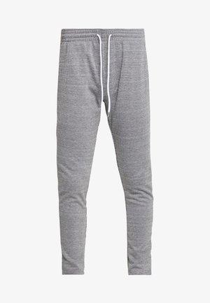 JJIWILL CHECK  - Pantaloni - dark grey melange