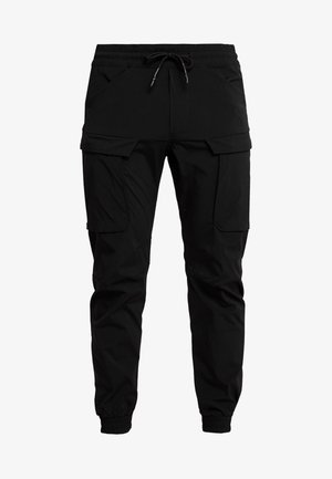 JJIGORDON JJLIFE - Pantaloni cargo - black