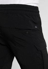 Jack & Jones - JJIGORDON JJLIFE - Pantaloni cargo - black - 5