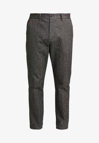 Jack & Jones - JJIACECHARLES HERRINGBONE - Pantalon classique - grey melange - 3