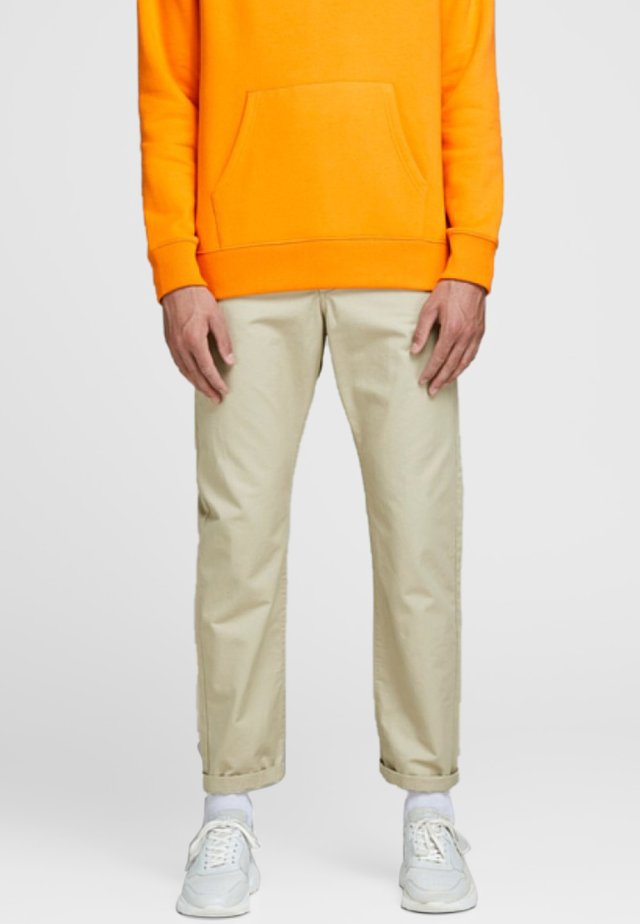 CHRIS GRAHAM AKM - Chinos - white pepper