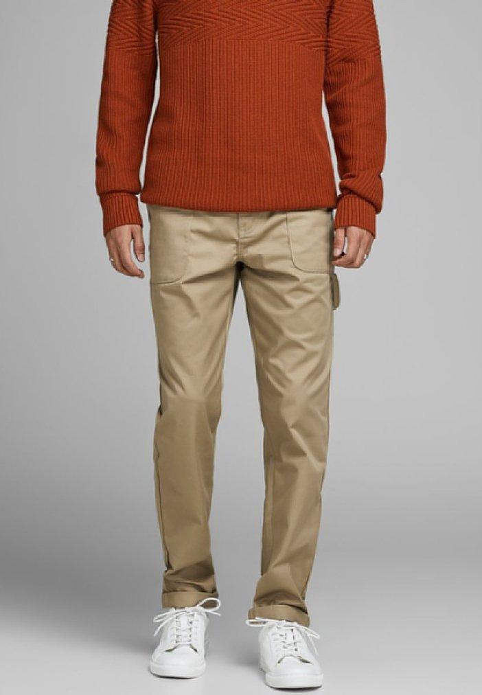 Jack & Jones - CARROT  - Pantaloni - beige