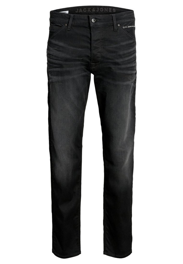Jack & Jones CHRIS REX JOS  - Jeansy Straight Leg - black denim