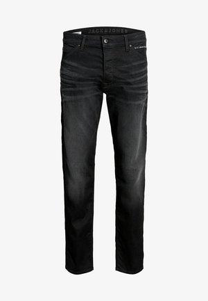 CHRIS REX JOS  - Jeansy Straight Leg - black denim