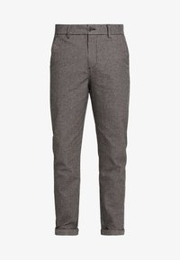 Jack & Jones - JJIACE JJCHARLES HOUNDSTOOTH - Broek - brown/stone - 3
