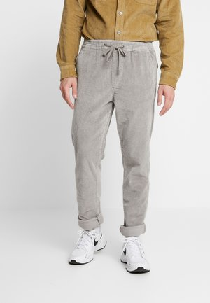 JJIVEGA JJBONE MOURNING  - Trousers - mourning dove