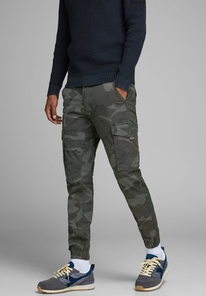 MILITARY - Cargobroek - charcoal grey