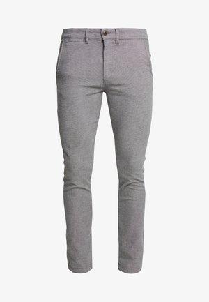 Pantalones chinos - silver birch
