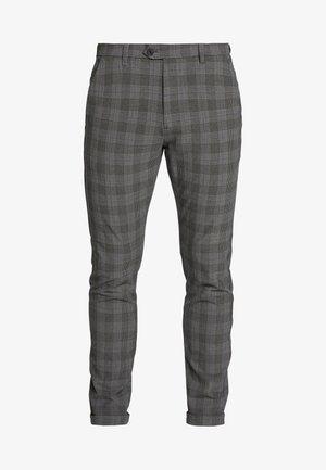 JJIMARCO JJCONNOR CHECK - Trousers - grey