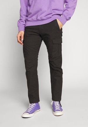 JJIROB JJALFA  - Pantaloni cargo - black