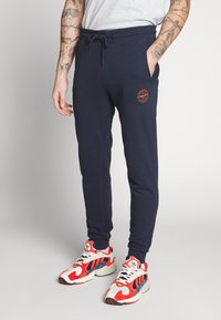 Jack & Jones - JJIGORDON JJSHARK PANTS  - Trainingsbroek - navy blazer - 5