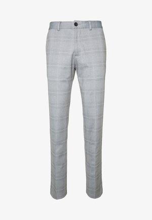 JJIMARCO JJPHIL NOR CHECK - Pantaloni - light gray