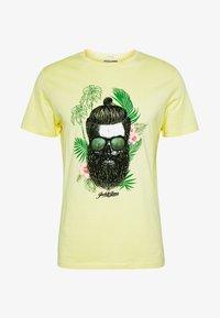 Jack & Jones - JORRICKY TEE CREW NECK - T-shirt print - flan - 3