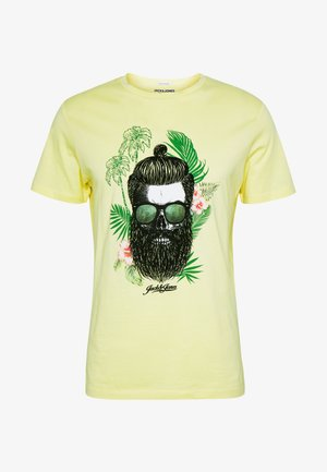 JORRICKY TEE CREW NECK - T-shirt z nadrukiem - flan