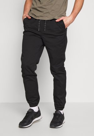JJIGORDON JJFREE  - Tracksuit bottoms - black