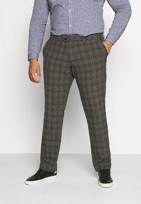 Jack & Jones - JJIMARCO JJCONNOR CHECK - Trousers - grey - 0