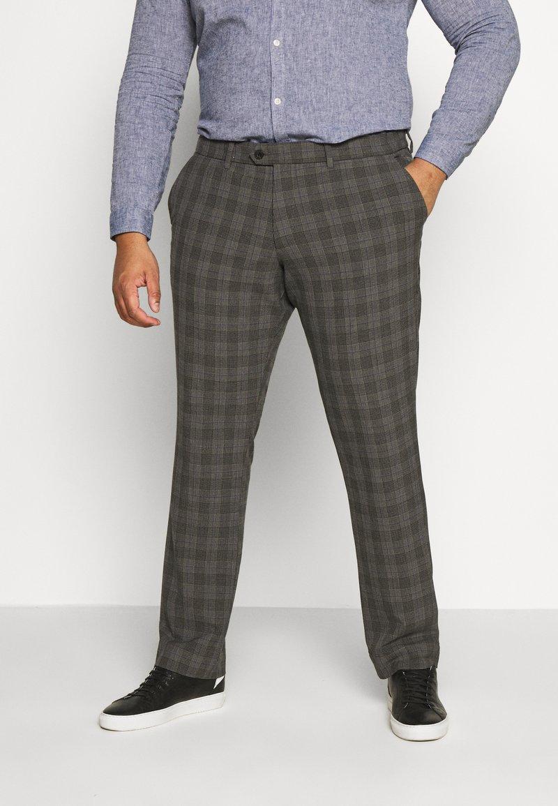 Jack & Jones - JJIMARCO JJCONNOR CHECK - Trousers - grey