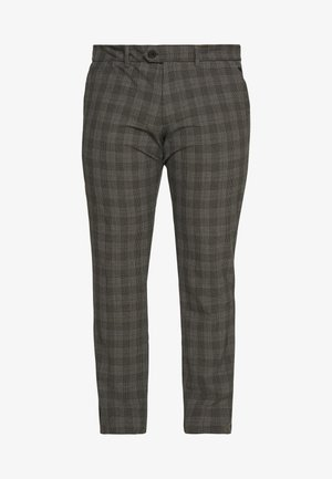 JJIMARCO JJCONNOR CHECK - Pantaloni - grey