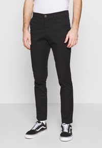 Jack & Jones - JJIMARCO JJDAVE 2 PACK - Pantalones chinos - black/dusty olive - 2