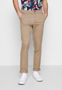 Jack & Jones - JJIMARCO JJDAVE 2 PACK - Chinos - beige/navy blazer - 2