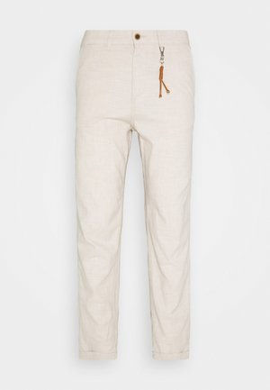 JJIACE JJLINEN  - Kalhoty - silver birch