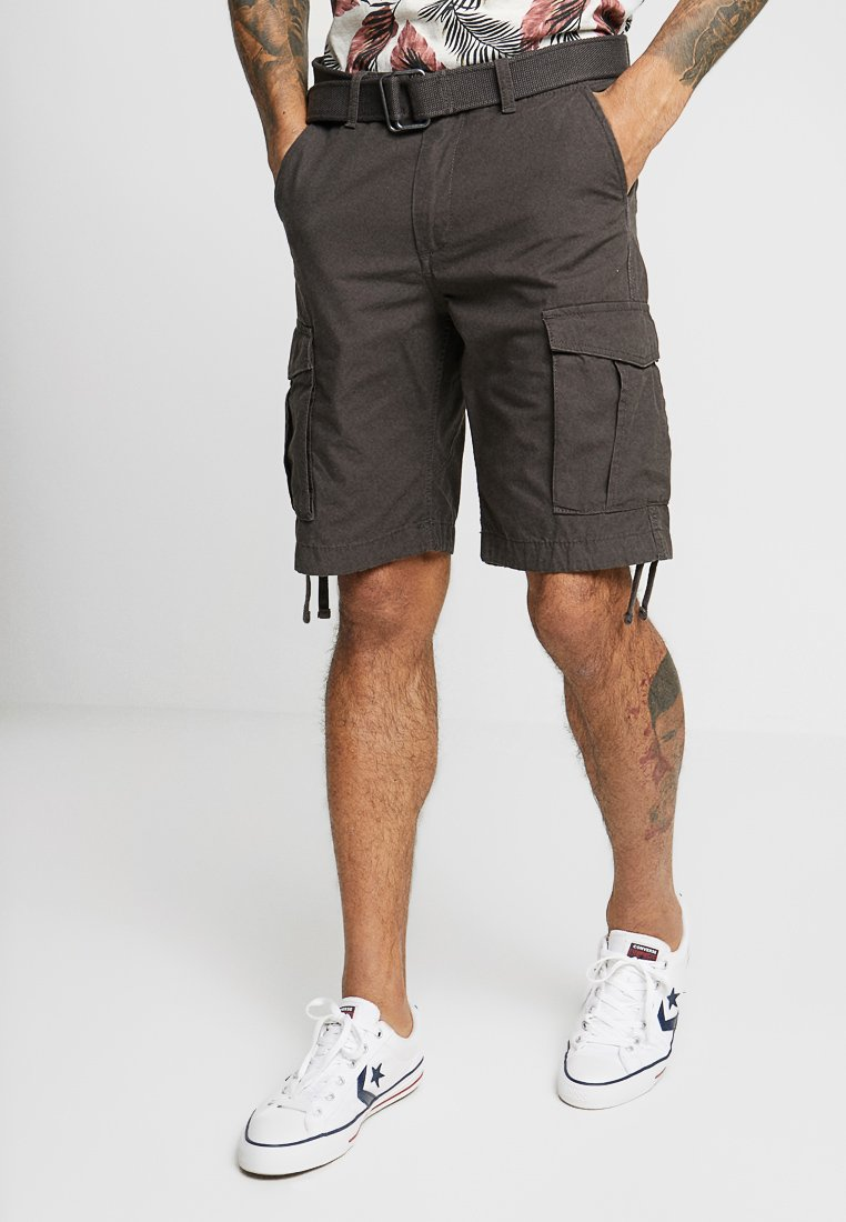 Jack & Jones - JJIANAKIN JJCARGO - Shorts - dark grey