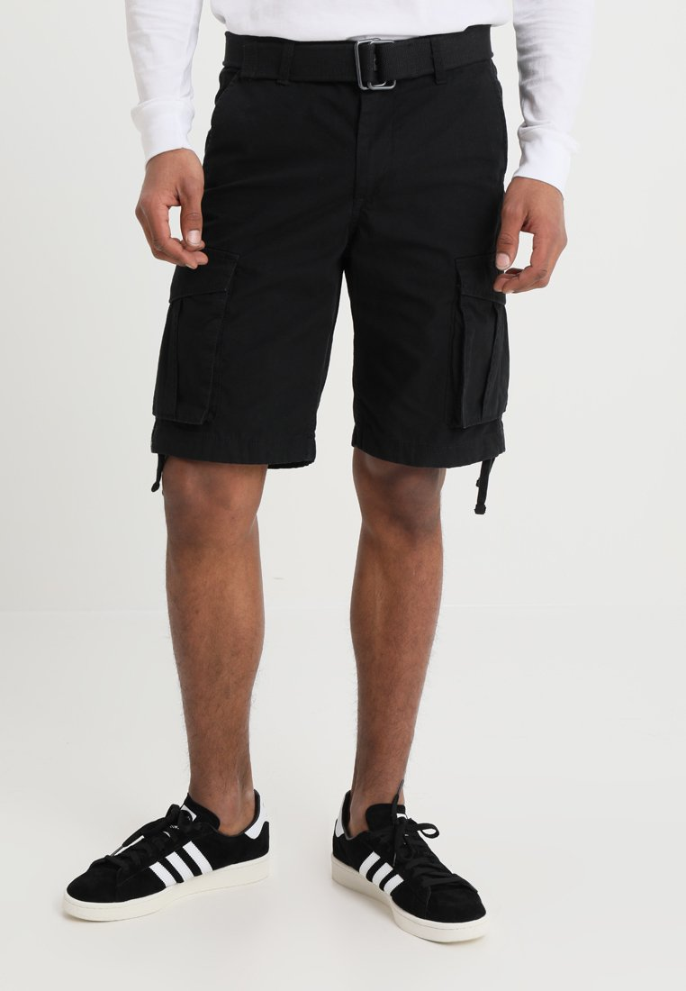Jack & Jones - JJIANAKIN JJCARGO - Shorts - black