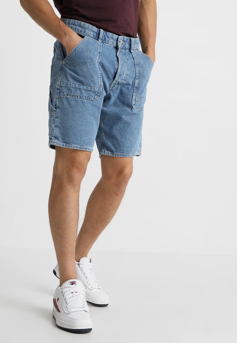 Jack & Jones - JJICHRIS JJTOOL JJ 135 - Jeans Shorts - blue denim