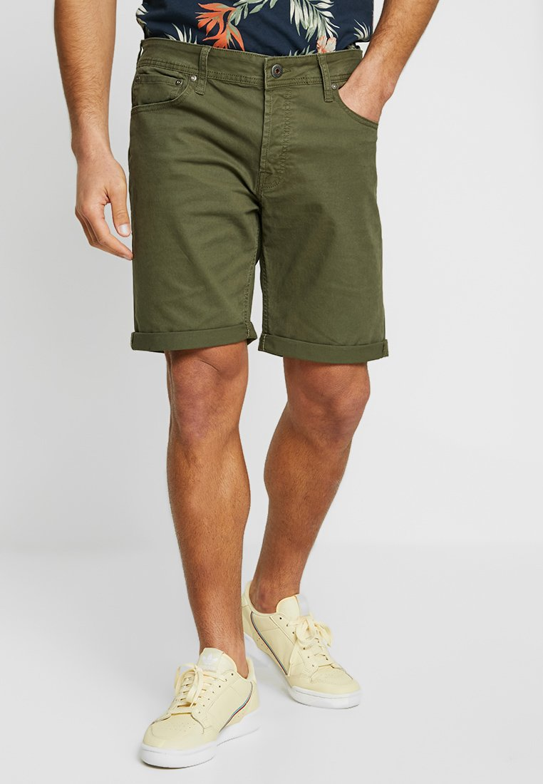 Jack & Jones - JJIRICK - Jeans Shorts - olive night