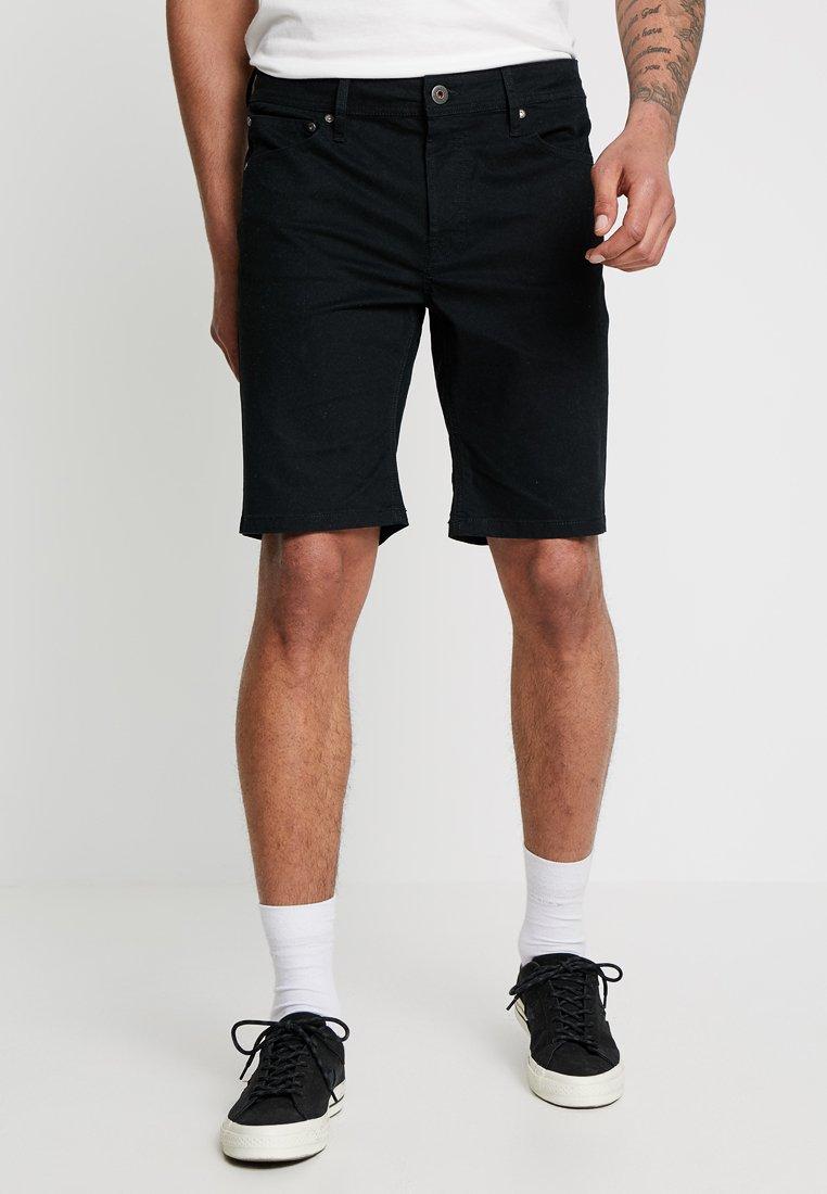 Jack & Jones - JJIRICK - Denim shorts - black