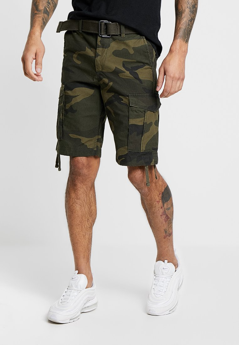 Jack & Jones - JJIANAKIN JJCARGO - Shorts - forest night