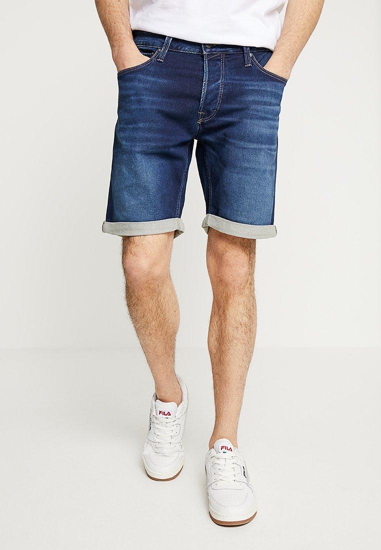 Jack & Jones - JJIRICK JJICON  - Denim shorts - blue denim