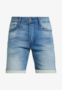 Jack & Jones - JJIRICK JJICON - Jeans Shorts - blue denim - 4