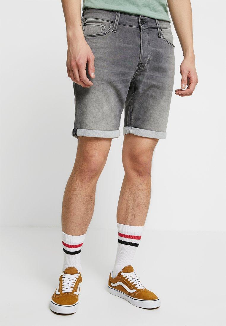 Jack & Jones - JJIRICK JJICON  - Shorts vaqueros - grey denim