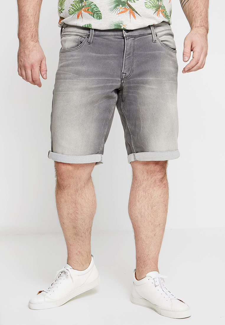 Jack & Jones - JJIRICK JJICON - Denim shorts - grey denim