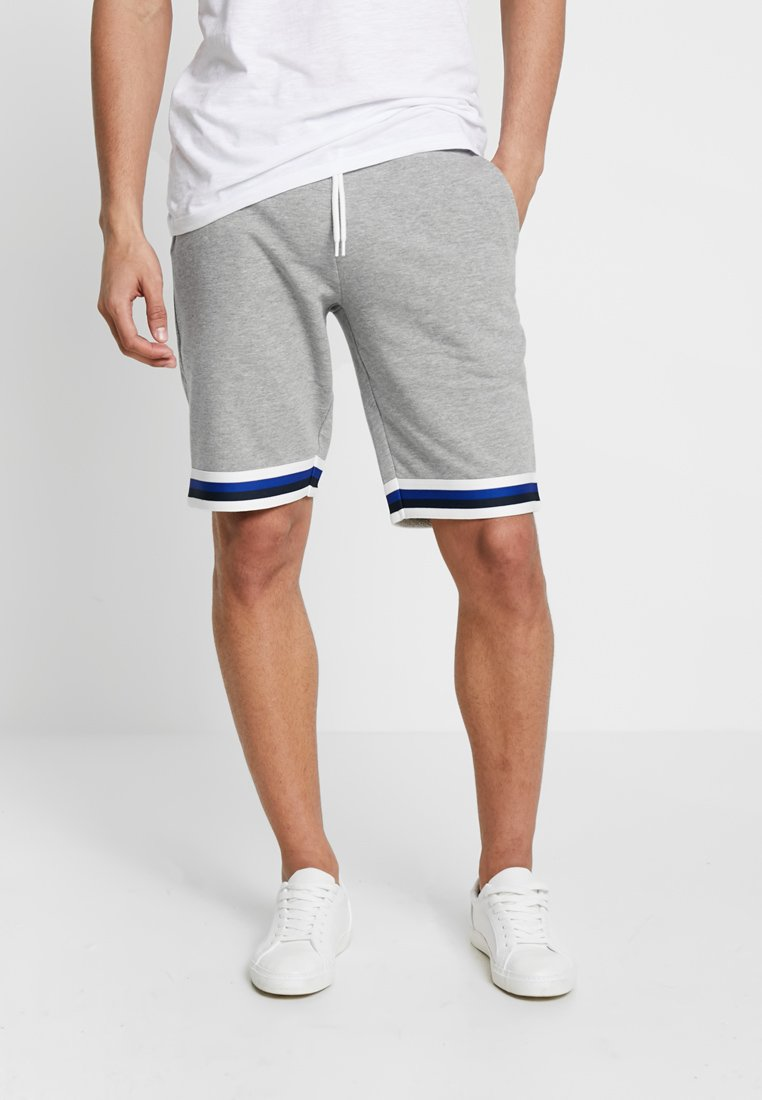 Jack & Jones - JJIRETRO - Shorts - light grey melange