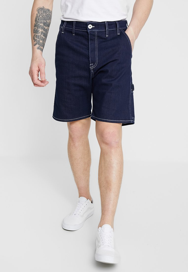 Jack & Jones - JJITONY JJTOOL  - Jeans Shorts - blue denim