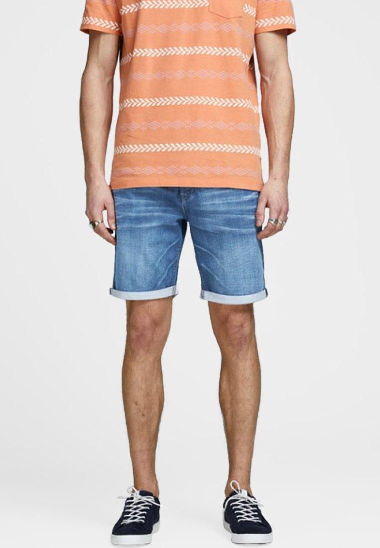 Jack & Jones - Denim shorts - blue