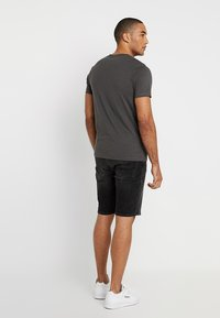 Jack & Jones - JJIRICK JJORIGINAL - Jeansshort - black - 2