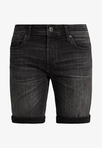 Jack & Jones - JJIRICK JJORIGINAL - Jeansshort - black - 4