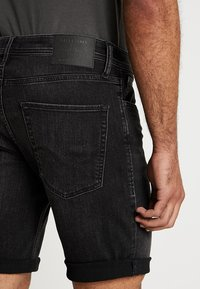 Jack & Jones - JJIRICK JJORIGINAL - Jeansshort - black - 5