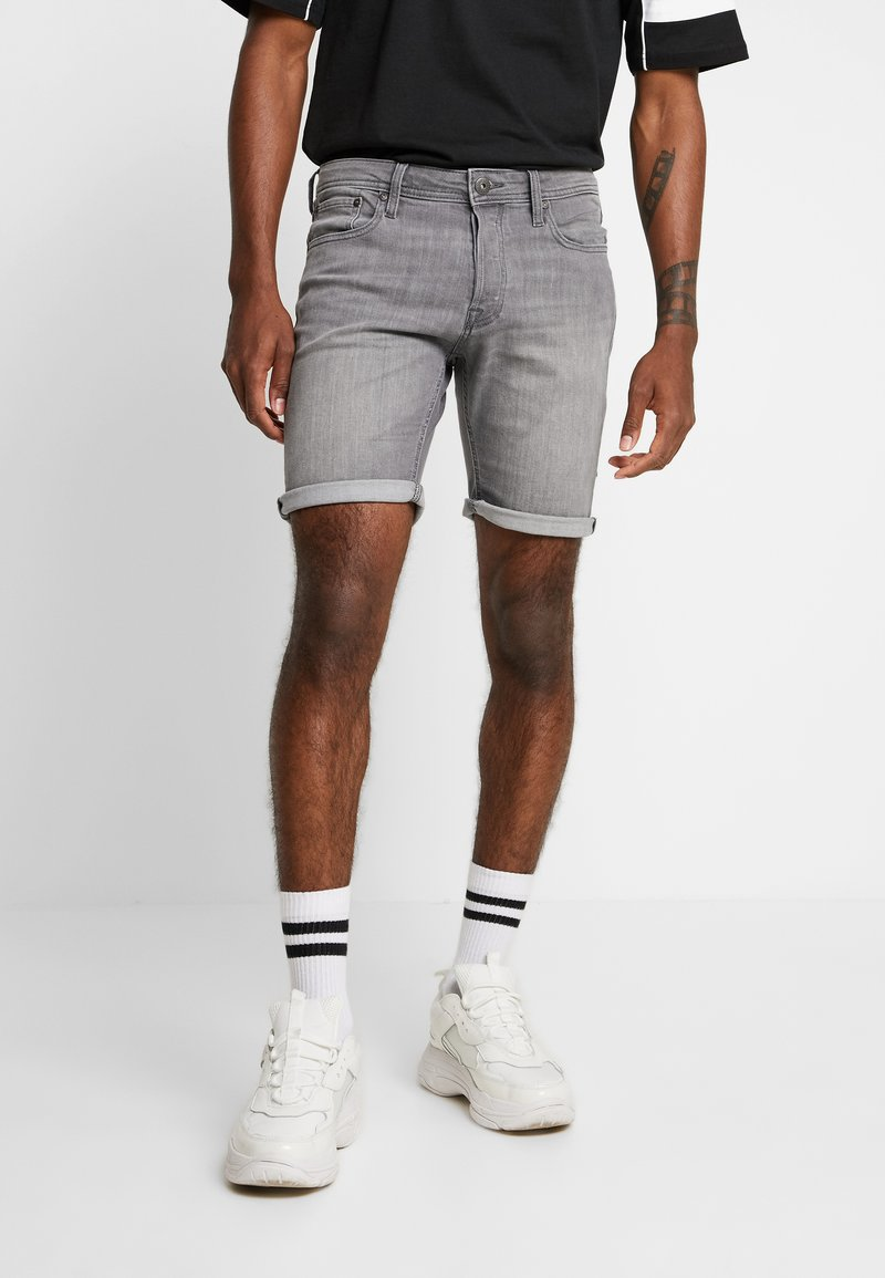 Jack & Jones - JJIRICK JJORIGINAL  - Denim shorts - grey denim