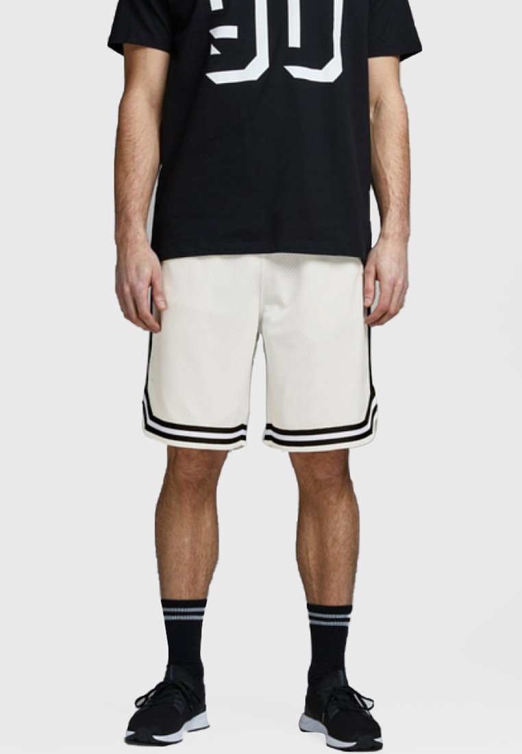 Jack & Jones - JJIBASKET  - Shorts - off-white
