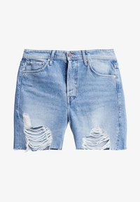 Jack & Jones - JJICHRIS JJORIGINAL - Jeansshort - blue denim - 4