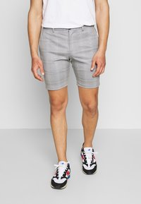 Jack & Jones - JJIPHIL CHINO  - Shorts - light grey melange - 0
