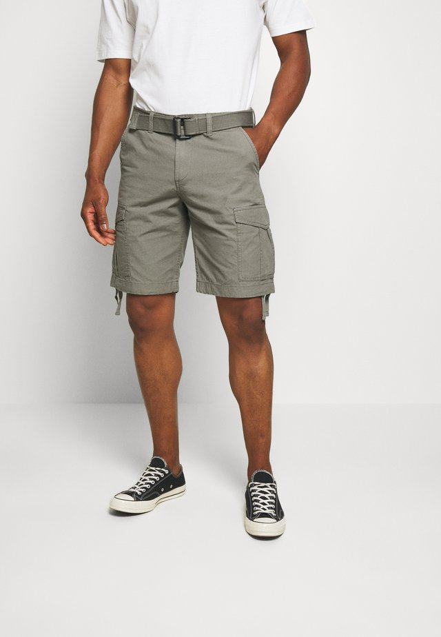 JJICHARLIE JJCARGO  - Shorts - charcoal gray