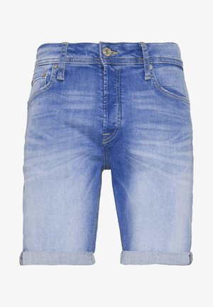 JJIRICK JJORIGINAL  - Szorty jeansowe - blue denim