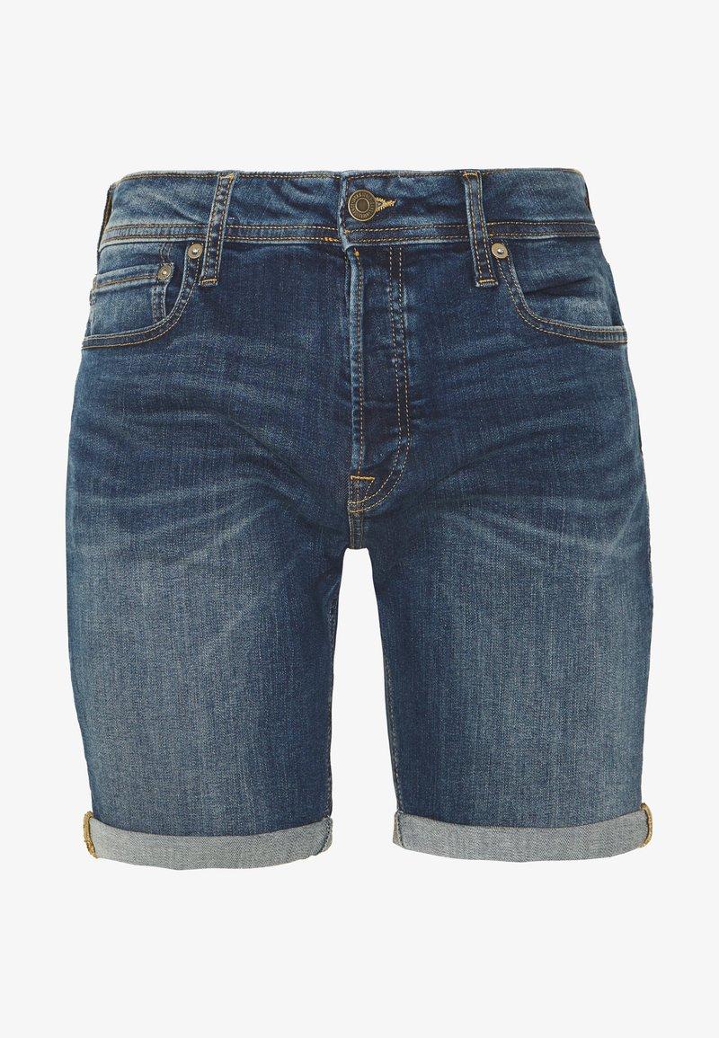 Jack & Jones - JJIRICK JJORIGINAL SHORTS  - Denim shorts - blue denim